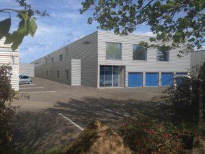perspective projet Douanes à Saint Quentin Fallavier